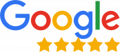 google five-star logo